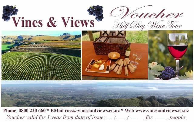 wine tour gift voucher